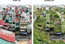 Green Architecture / Sustentabilidade, baixo impacto ambiental, renovações energéticas, novas técnicas construtivas.