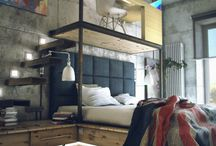 Bachelor Pads / Loftstyle bachelorpads - The only way a man should live