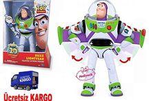 Toy Story Buzz Lightyear Konuşan Robot Figür Orjinal Lisanslı