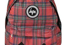 Hype Backpacks / Believe the Hype - these brightly patterned backpacks are so exciting and cool - they almost make you want to go to school!