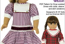 Patterns: Toys / sewing patterns, knitting patterns, crochet patterns for toys, teddies, teddy, dolls, doll clothes, doll clothing, softies, plushies