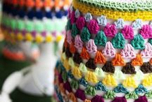 crocheted projects