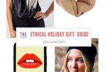 M+E Holiday Gift Inspiration / Aesthetics + Ethics: Holiday gift ideas from American-made, Fair-trade, and Sustainable brands.