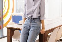 Mom's jeans outfit
