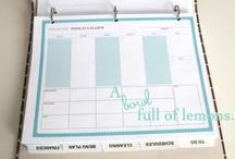 Home Management Notebook / by Sara Beyer
