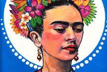'an homage to Frida Kahlo'  ... 2016 Group Exhibition / Frida Kahlo
