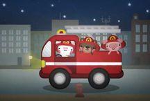 video pompieri
