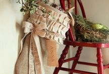 Christmas stockings / Christmas stocking inspiration / by browneyedbabs (pinterest)