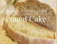 Pound Cake, loafs, breads & co / by Constanze List