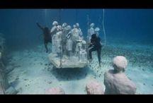 underwater art mueum