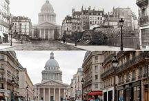 Histoire-Paris Hausmann / comment était Paris avant la transformation ? réalisation de 1852 à 1870 par Napoléon III et le préfet Haussmann.