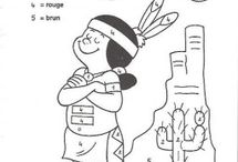 Native American worksheet for kids / This page has a lot of free printable Native American (indians) worksheet for kids,parents and teachers