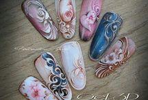 artystyczne paznokcie