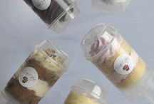 Cake Push Pops / Looking to wow your guests at a corporate event or party? Sweeten them up with our cake push pops.