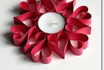 quilling - candles