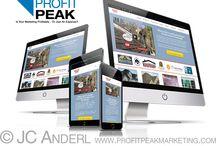 Website Design portfolio / My portfolio of websites