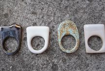 Lumo Ceramic Rings / Ceramic rings - one of a kind