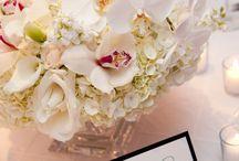 Bridal flower arrangements