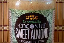 Sweet Almond Coconut Butter / Sweet Almond Coconut Butter. Ingredients: Organic coconut, roasted almonds, organic coconut sugar