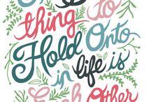 Quotes / by Rachel Evans