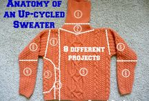 CREATIVE: Clothing Upcycling- Sweaters / Clothing Upcycling- Sweaters / by Lady Katie