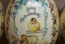 Anita- handmade Easter decoupage