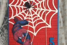 Card spiderman