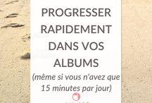 Tutos Albums Scrapbooking