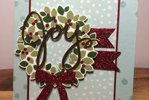 SU Wondrous Wreath / Stampin' Up stamp set Wondrous Wreath 135047 Autumn-Winter catalogue 2014+2015