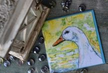 Farm Animal Greeting Cards / Original paintings by Alison Archbold of her farm animals, that have been printed to gift and greeting cards. 100% Australian made and owned.