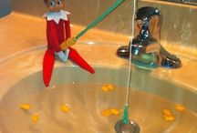 ELF adventures / Having a little holiday fun with our elf on a shelf.