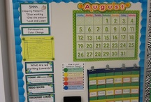 School- Class boards and Decor