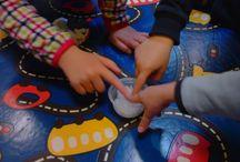 Atividades realizadas / experimentar, tocar, criar, observar... apelar aos sentidos, à exploração, às sensações. é o que se pretende desta área, e considero fundamental desde o berçário/creche ao final do pré-escolar