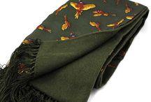 Fashion Scarves / Look dapper for the festive season! Wear a quality fashion silk scarf that oozes class! www.soprano-ties.com/fashion-scarves