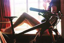 Life of a Mountain-biker / Sport, mountain bike, girl, cyclist, bike