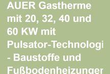 Gas-Brennwertkessel AUER