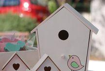 oh...my little bird! / mint & pink themed christening!