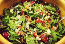 Fresh and healthy salads / by Rita Karasik-McGee
