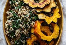 Vegetarian Holiday Dishes / Delicious vegetarian dishes that would be great during the Holidays!
