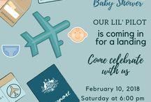 DIY Aviation-Themed Baby Shower