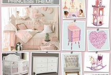 Girls Nursery Room Ideas / Adorable nursery themes for girls.