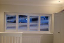 Wooden Shutters for Dining Rooms - Shutter Design Ideas / Incredible bespoke shutters in dining areas  www.theshutterstudio.com