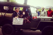 Street parade 2015 / Tocht van de veteranen over de loolaan