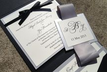 Wedding paper items