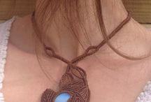 My Creations / Macrame jewelry Macrame necklaces, bracelets and earrings. All is handmade.