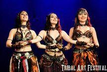 Odalisk / Grupo de danza tribal-fusión-ritual-ITS de Barcelona formado por Nyx, Amber y Persia de Lune.