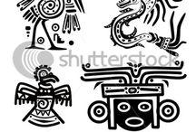 2015 IDEAS. (2nd) Mayan Symbols - El Dia de los Muertos