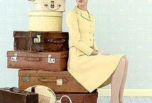 Vintage Luggage / by Rose Schmidt
