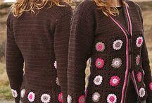 crochet jacket.