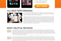 product review landing page
